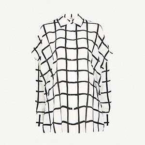 DIANE VON FURSTENBERG - Checked shirt