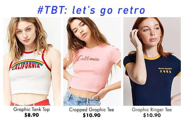 #TBT: Let's go retro