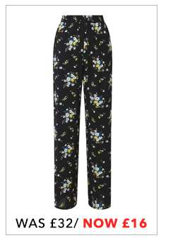 Printed Side Striped Pyjama Trousers