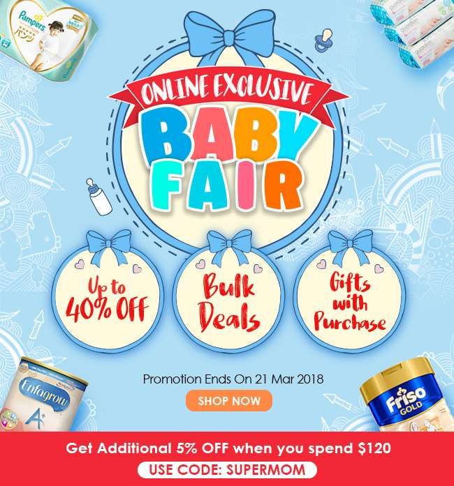 Online Exclusive Baby Fair by Guardian is back!