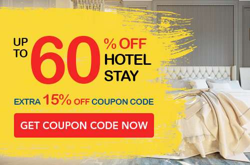 Get discounts to amazing hotel stays worldwide for up to 60% OFF + Additional 15% OFF!