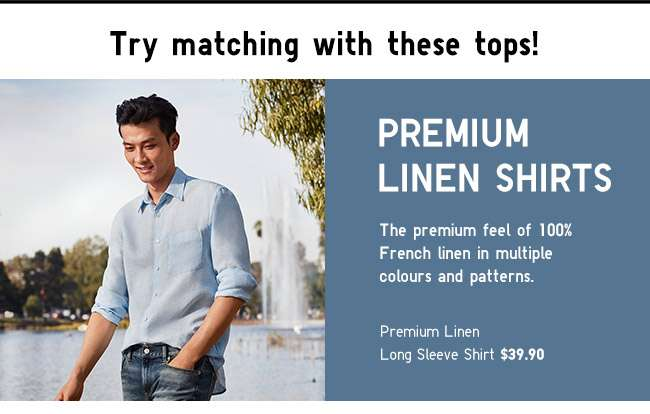 Shop Men's Premium Linen Shirts