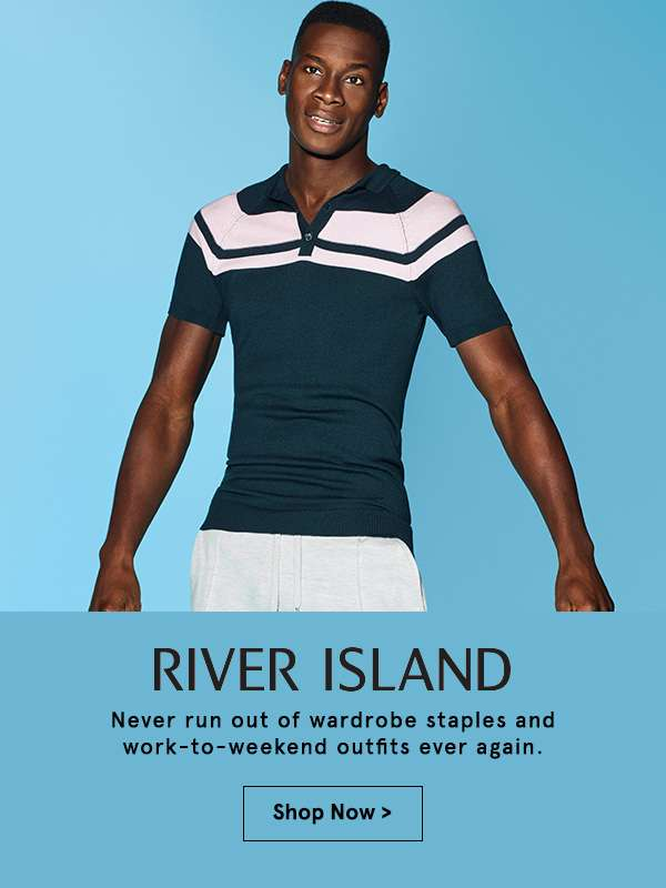 River Island. Shop now.