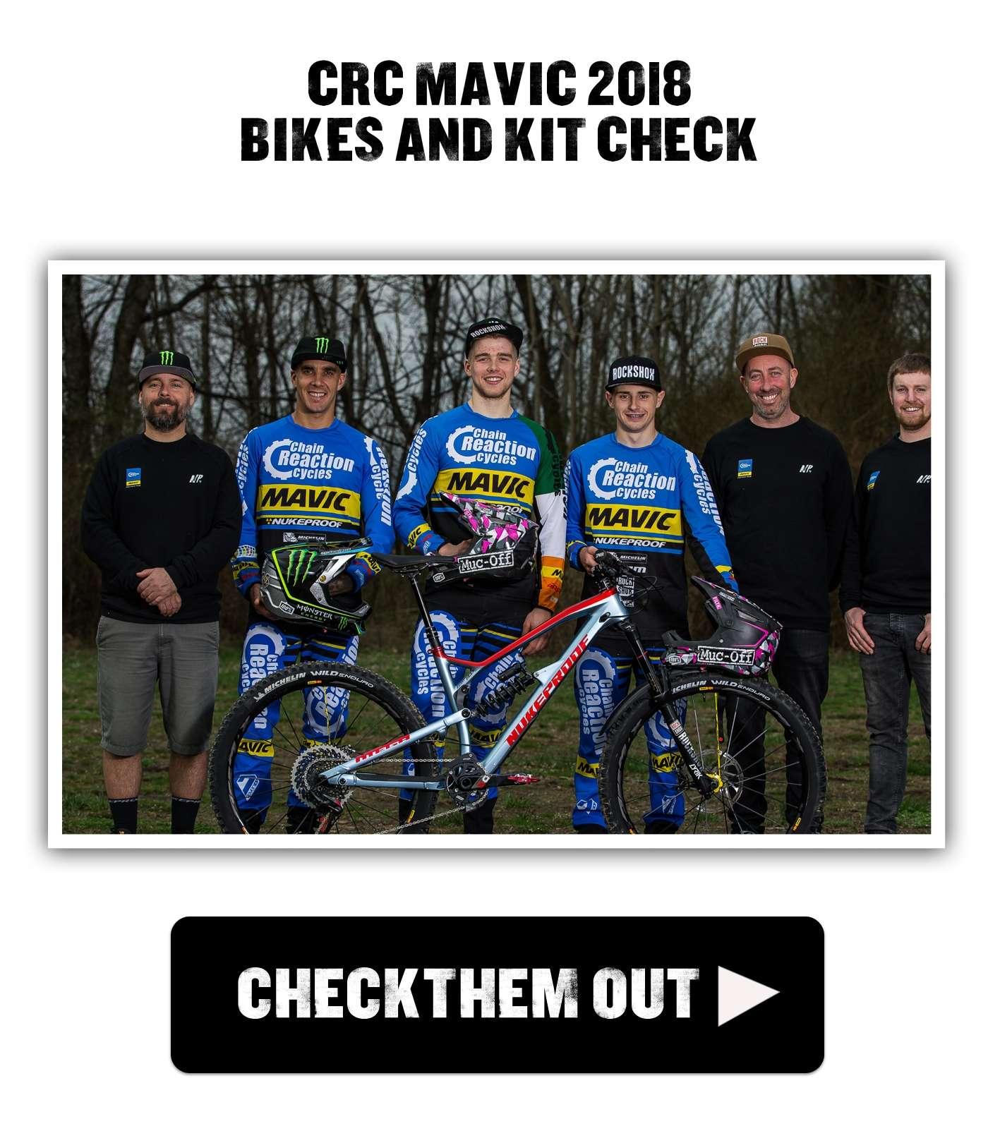CRC Mavic 2018 bikes and kit check
