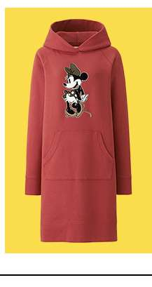 Shop Women's Mickey Stands Sweat Dress at $49.90