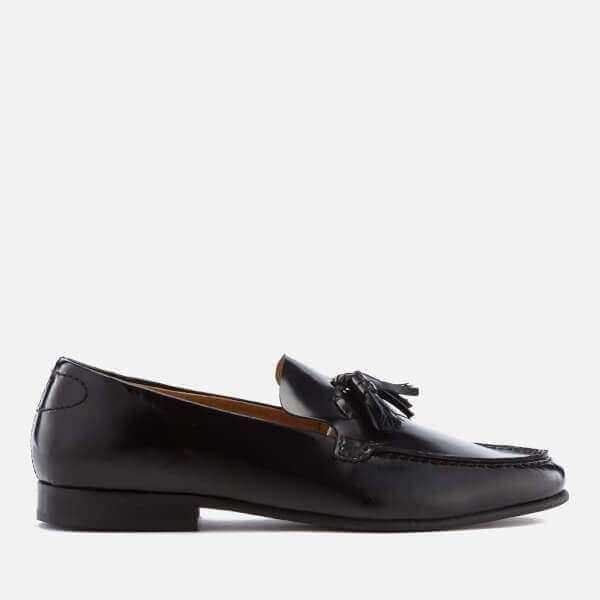 Hudson London Men's Bernini Leather Tassel Loafers