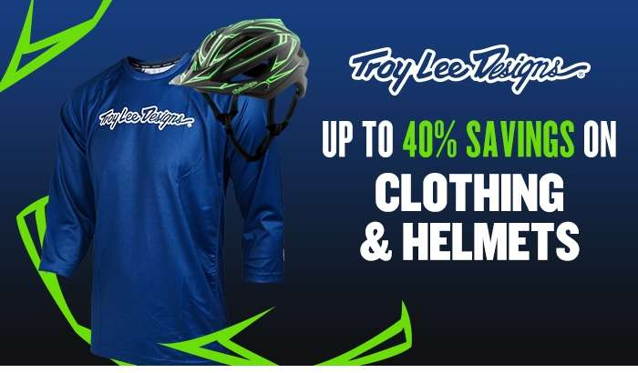 Up to 40% off Troy Lee Design