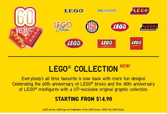 NEW LEGO® Collections now available! From $14.90