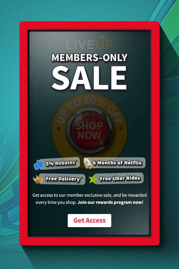 Get access to our member exclusive sale, and be rewarded every time you shop. Join our rewards program now!