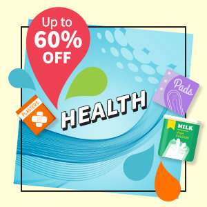Health and beauty products at up to 30% OFF!