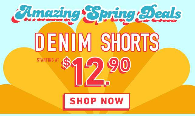 Amazing Spring Deals | Shop Now