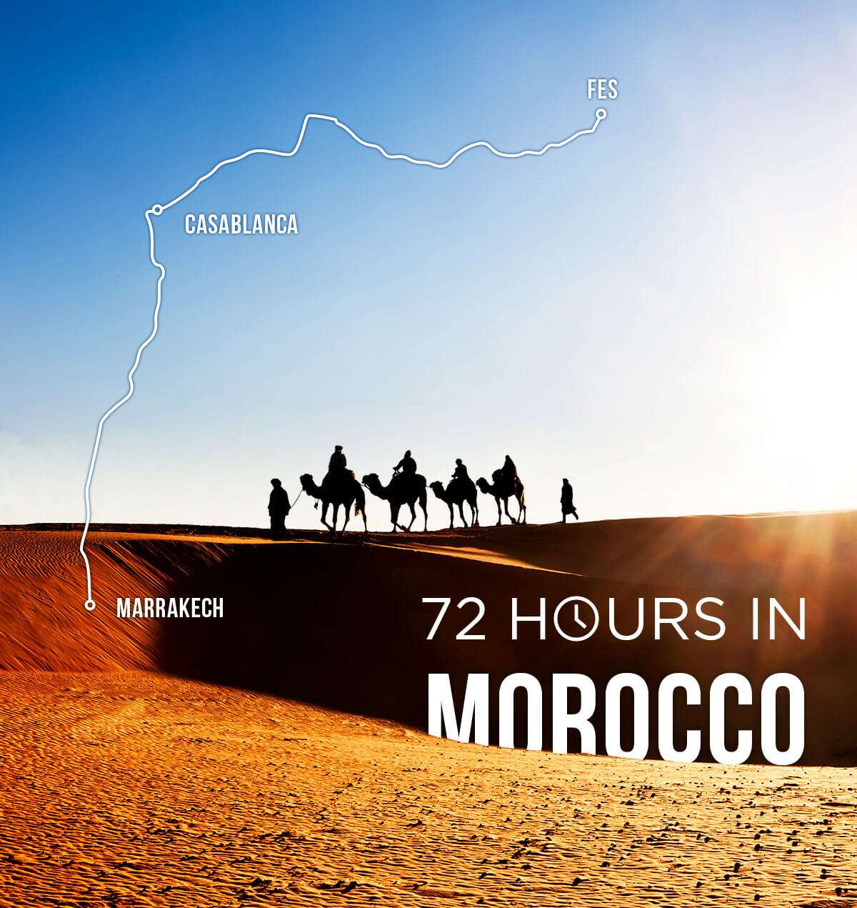 Spend 72 hours in Morocco and earn up to 10,000 miles or points!