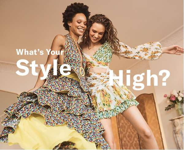This spring is full of pieces that'll put your closet on cloud nine. Because when you love your look…  that's a #stylehigh