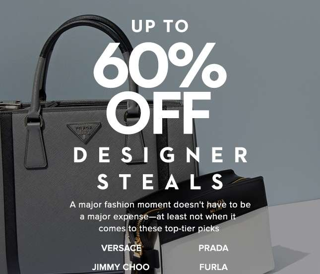Up To 60% Off Designer Steals