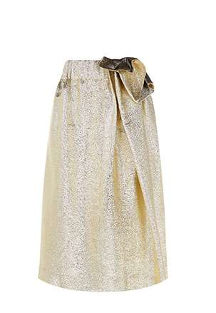Metallic Emmy Skirt