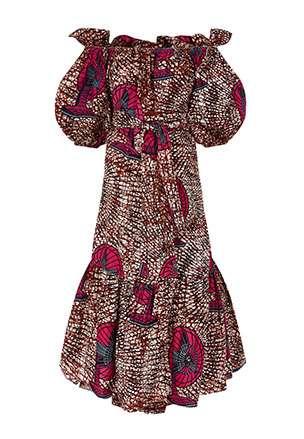 Jeny Midi Dress