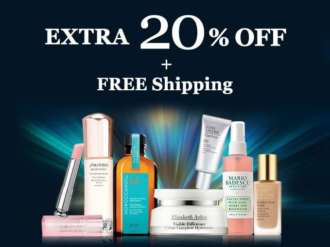 Get Extra 20% Off + Free Int'l Shipping! Offer ends 18 Mar 2018.