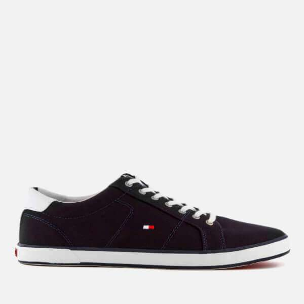 Canvas Low Top Trainers