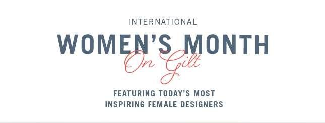 International Women's Month - Shop Now