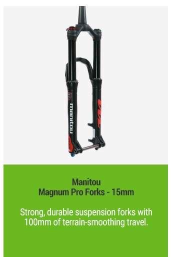 Manitou Magnum Pro Forks - 15mm