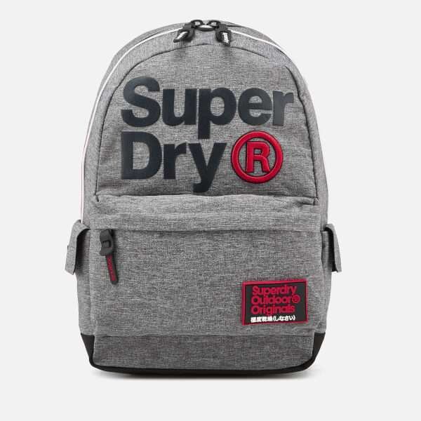 Superdry Men's High Build Lineman Montana Backpack - Pepper Grey