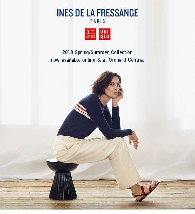 New launch! 2018 Spring/Summer Ines De La Fressange Collection now available online and at Orchard Central