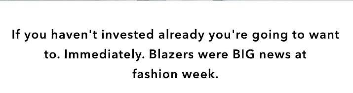 Blazer With Everything - Shop Blazers