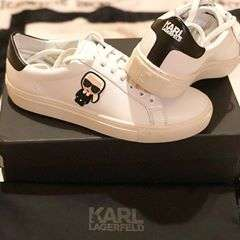 little happiness#shoes #designer #designershoes #karllagerfeld #karllagerfeldoriginal #karlismyfather #karllagerfeldshoes #happy #sneakers #fashion #fashionista #fashionshoes
