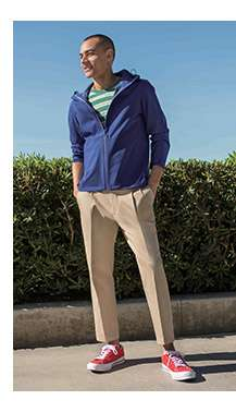 Men's Relaxed Ankle Pants