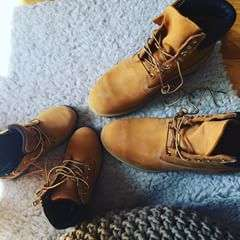 Twin in your #Timberland. 📸: @szafeczka