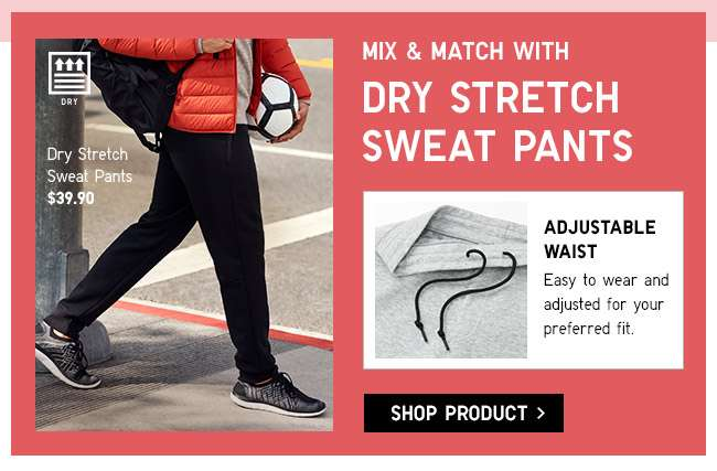 Shop Men's Dry Stretch Sweat Pants