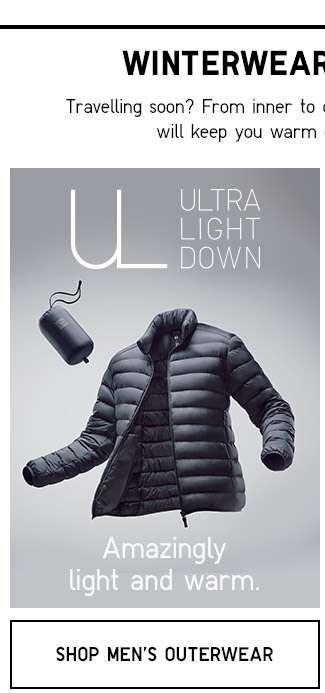 Shop Men's Ultra Light Down