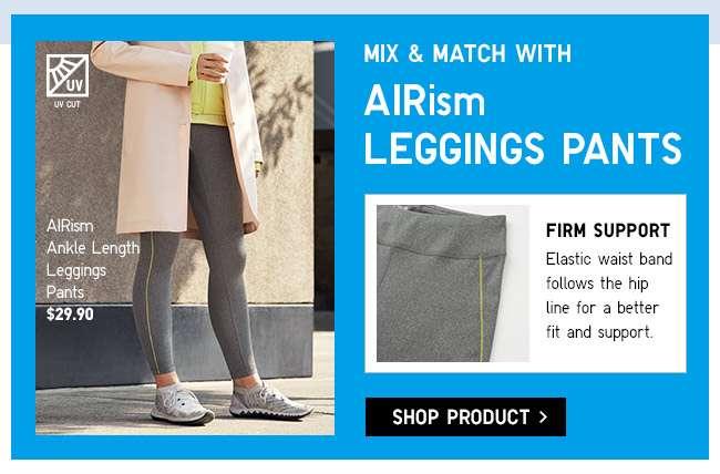 Shop Women's AIRism Ankle Leggings Pants
