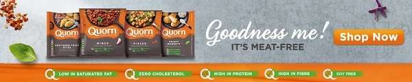 Meat-free green protein with QUorn!