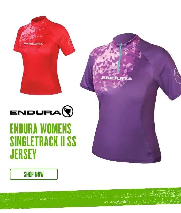 Endura Womens SingleTrack II SS Jersey