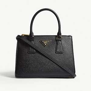 PRADA                                                                                  Galleria shoulder bag