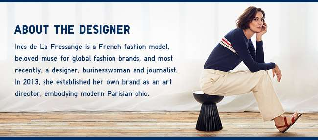 About the designer Ines De La Fressange
