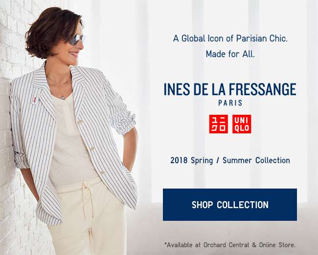 Shop the new Ines de La Fressange Collection