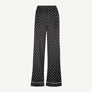 GANNI                                                          Dufort polka-dot trousers