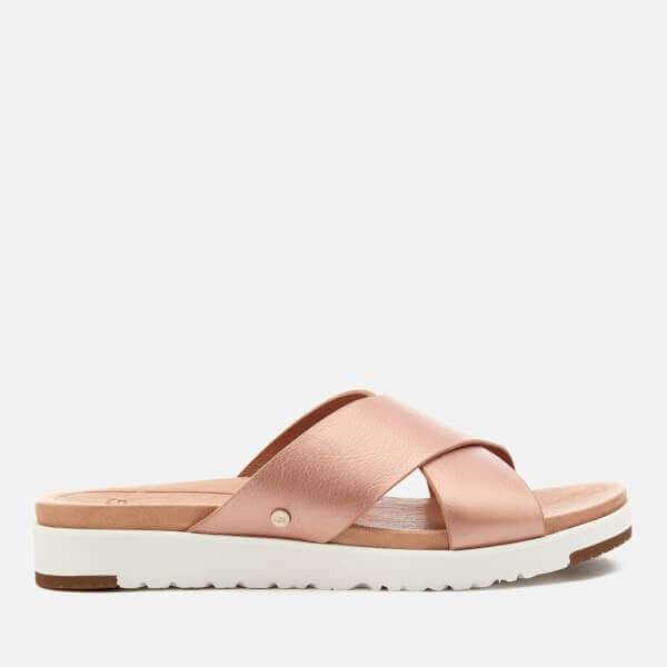 Kera-B Leather Slide Loafers