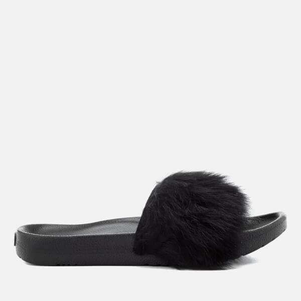 Royale Fluffy Slide Sandal