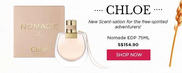 Shop Now: Chloe Nomade EDP 75ML S$154.90