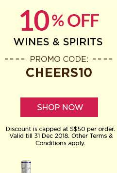 10% Off All Wine & Spirits | Promo Code: CHEERS10 | Shop Now