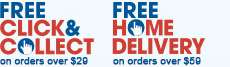 Free Click and collect & home delivery