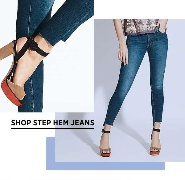Shop Step Hem Jeans