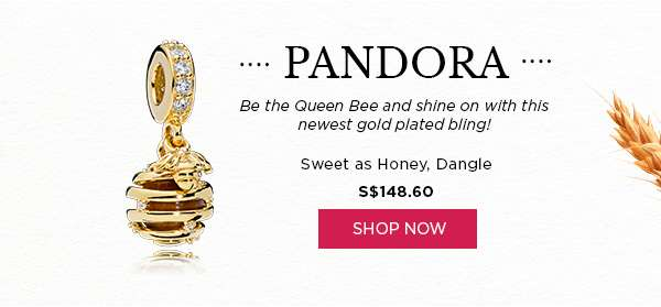 Shop Now: Pandora Sweet As Honey, Dangle S$148.50
