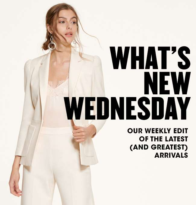 WHAT'S NEW WEDNESDAY