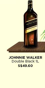 Johnnie Walker Double Black 1L S$49.60