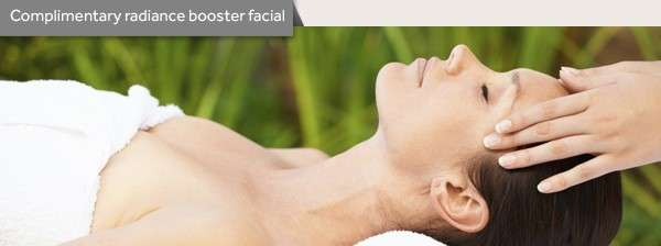 Complimentary radian booster facial