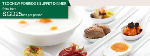 Teochew Porridge Buffet Dinner